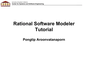 RSM Tutorial - Software Engineering II