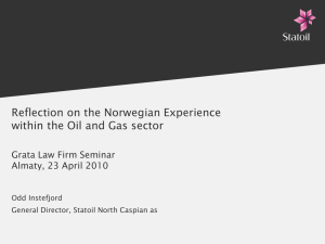 Local Content The Norwegian Experience Grata Law Firm Seminar