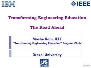 Transforming Engineering Education