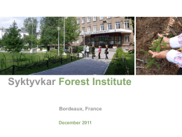 Syktyvkar Forest Institute