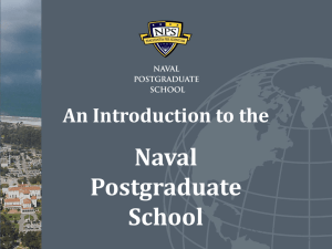 research - Naval Postgraduate School