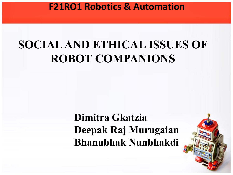 noel sharkey the ethical frontiers of robotics