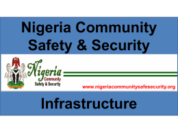 NCSS for eNigeria Summit(security app)