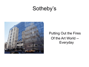 Sotheby`s - MetaMatrix Consulting Group