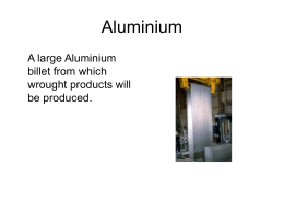 Non-Ferrous Metals and Alloys