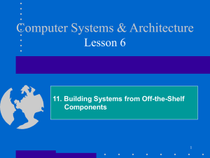 11. Building Systems from Off-the