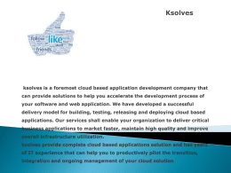E-commerce Solutions ksolves has a strong presence
