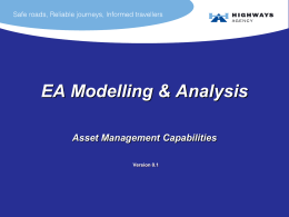 Asset Management and Maintenance Capabilities