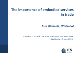 Tom Westcott, ITS Global, Australia