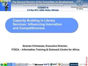 Capacity Building in Library Services