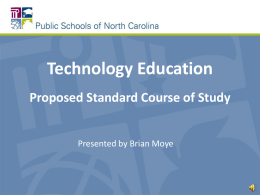 Technology Engineering and Design Education SCOS