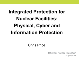 C. Price, UK - Nuclear Safety and Security