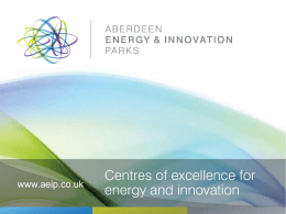Aberdeen Energy & Innovation Parks