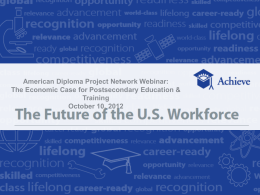 The Future of the U.S. Workforce Series