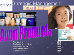 Strategic Management - Reports & Presentations