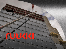 Ruukki in construction