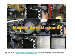 Auto Mechanics - Ideas