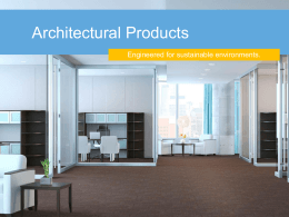 Arch Products Presentation ppt
