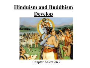 Hinduism and Buddhism Develop (Part 2)