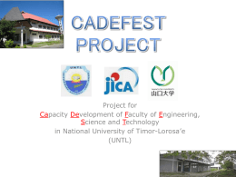 CADEFEST PROJECT