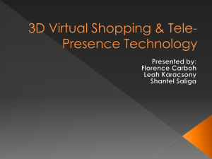3D Virtual Shopping & Tele