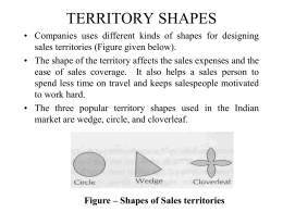 Territory Shapes