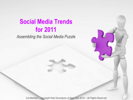 Social Media Trends - Social Media in the Age of Obama