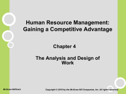 Chapter 4 - Department of Management and Information Systems