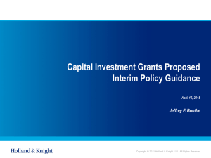 4.15.15 presentation on Program Projects Investment