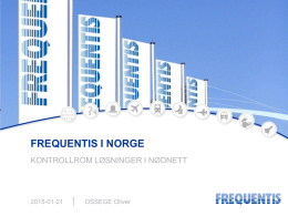 Frequentis Norge