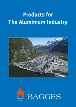 Products for The Aluminium Industry