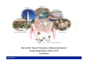 "Main profile ""Signal Processing in Medical Applications"