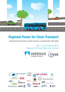 Regional Power for Clean Transport