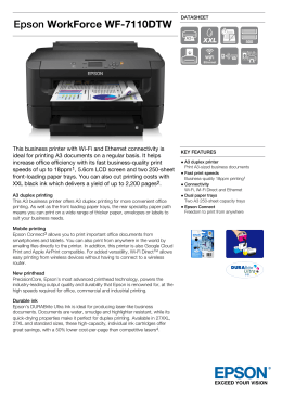 EpsonWorkForce WF-7110DTW