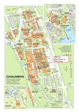 Chalmers campus map pdf