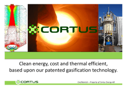 Clean energy, cost and thermal efficient, based upon our patented