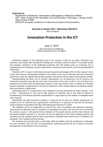 Innovation Protection in the ICT