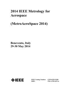 Metrology for Aerospace Proceedings