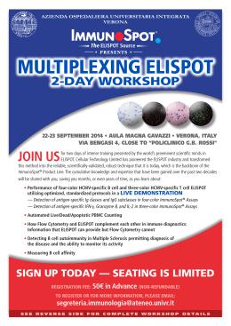 MULTIPLEXING ELISPOT