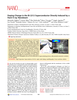 Doping Change in the Bi-2212 Superconductor Directly Induced by