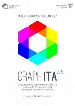 Download 2 nd Circular - GraphITA 2015