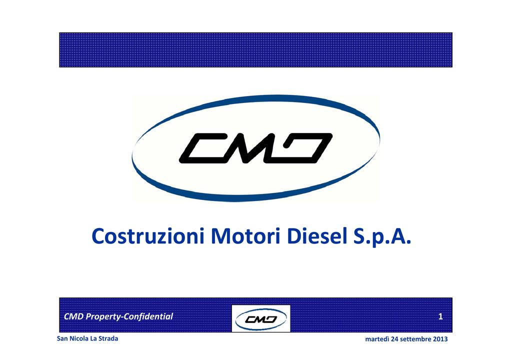 low cost 8224c 76a9d Costruzioni Motori Diesel S.p.A.