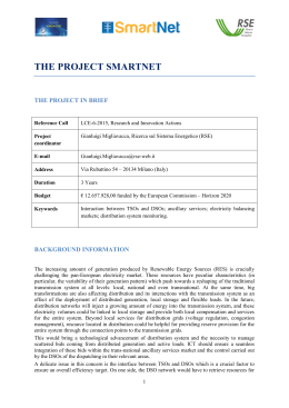 the project smartnet