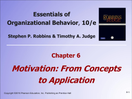 6: Motivation - From Concepts to Applications