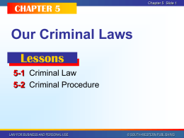 Business Law Chapter 5 PPT