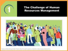 Managing Human Resources 15e.