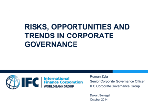 CG_risks opportunties and trends_IFC_v6_ RZ V2 Dakar
