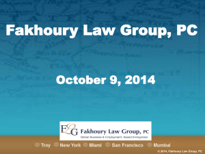 Fakhoury Law Group, PC - MISHRM Annual Conference