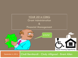 Grant Administration and Financial Management