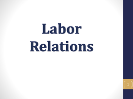 Labor Relations - University of California Cooperative Extension